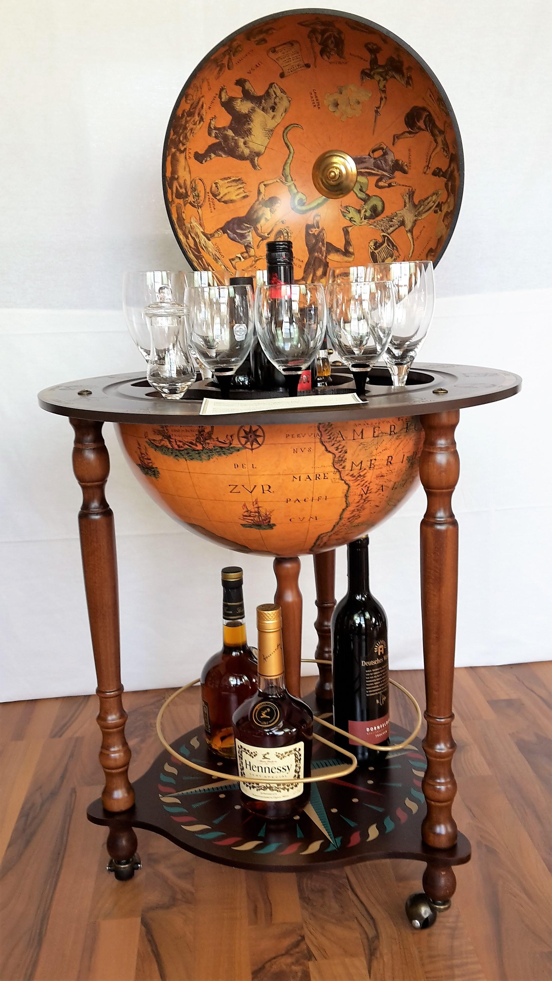 globus bar minibar enea zoffoli totale minibar barwagen 5 globus. Black Bedroom Furniture Sets. Home Design Ideas