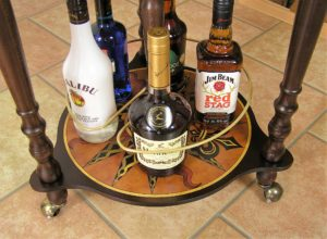 Zoffoli Globus Bar Da Vinci Rust Universal Bar Globe Untere Ablage 1