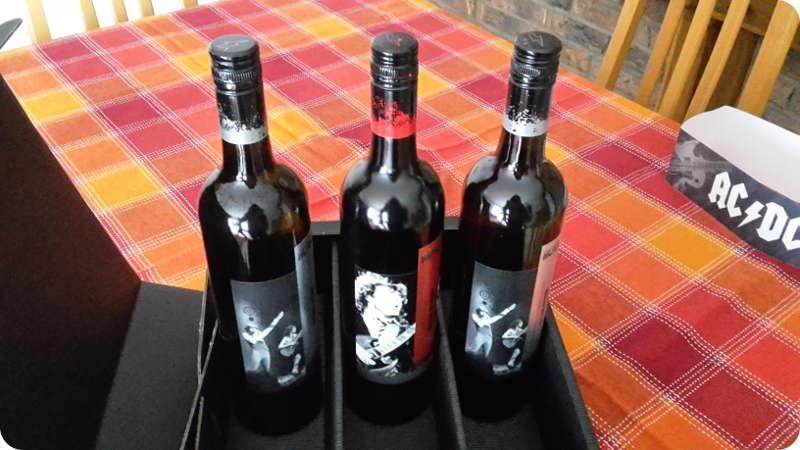 AC DC Wein kaufen Deutschland, Geschenke, Shiraz, Souvignon, Hells Bells, Back-in-Black