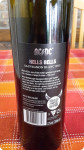 AC DC Wein kaufen, Hells Bells, Sauvignon, hinteres Etikett aus der Nähe