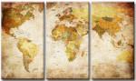 Herrenzimmer einrichten - Politische Weltkarte von Visario