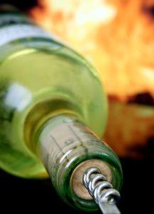 Wein lagern Korken Lagerposition