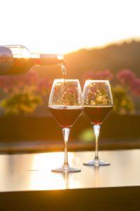 Wein lagern Weinlagerung Licht