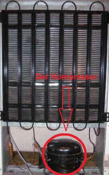 Kompressor eines Kühlschranks