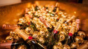 Champagner, Champagnerflaschen, Schaumwein