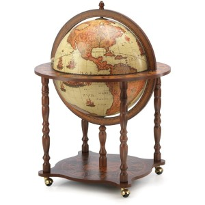 Globus Hausbar antik Dedalo Safari, Globus Bar antik